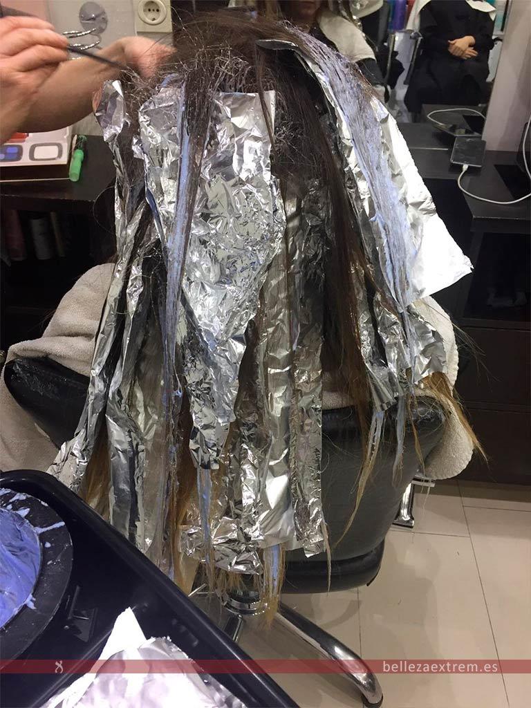 Balayage en Extrem peluquería de Jaén