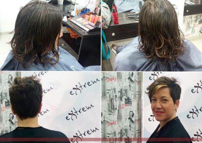 Cambio de imagen en Extrem peluquería