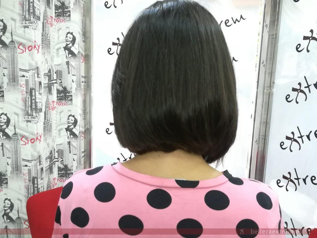 Donación de pelo para Ajicam en peluquería Extrem