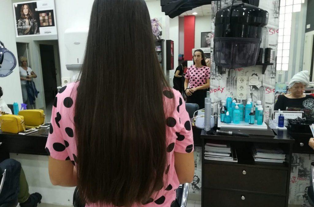 Donación de pelo para Ajicam