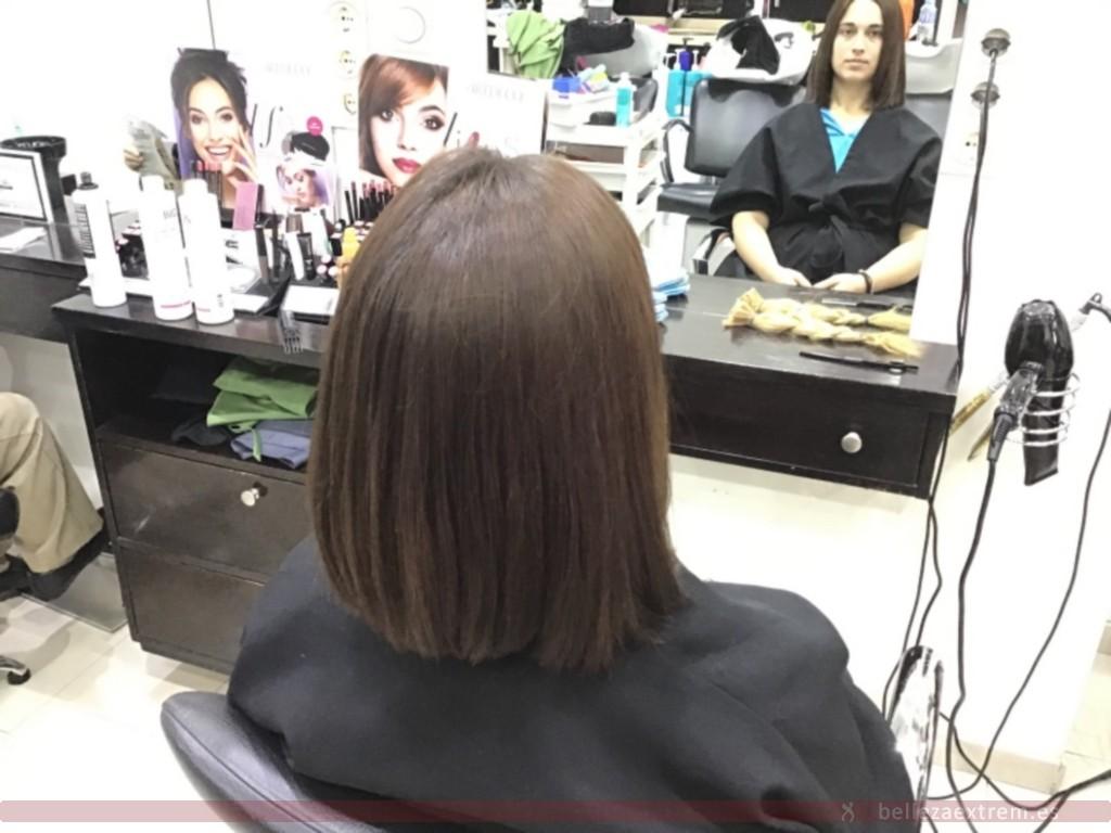 Cambio de look en Extrem peluquería de Jaén