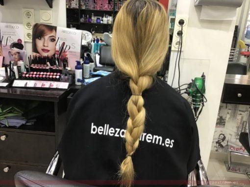 Cambio de look y donación de pelo