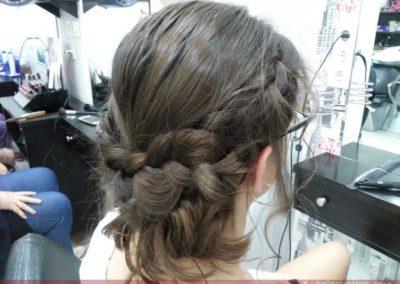 Recogido para graduación en Extrem peluquería Jaén