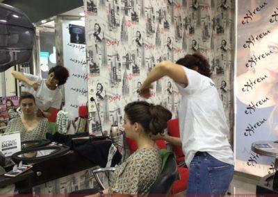 Recogido y Maquillaje para ir de boda en Extrem peluquería Jaén