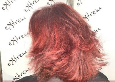 Trabajos de Corte y Color en Extrem peluquería de Jaén