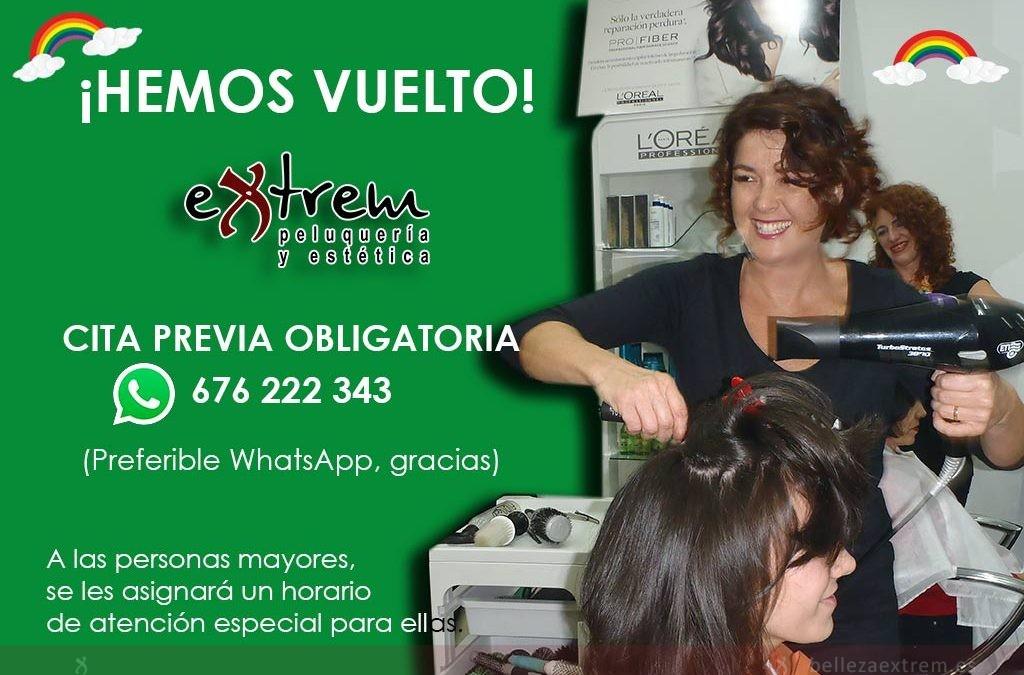 Extrem peluquería y estética a tu servicio