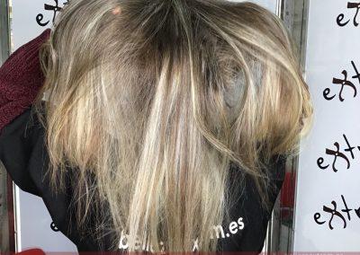 Trabajos de Balayage en Extrem peluquería de Jaén