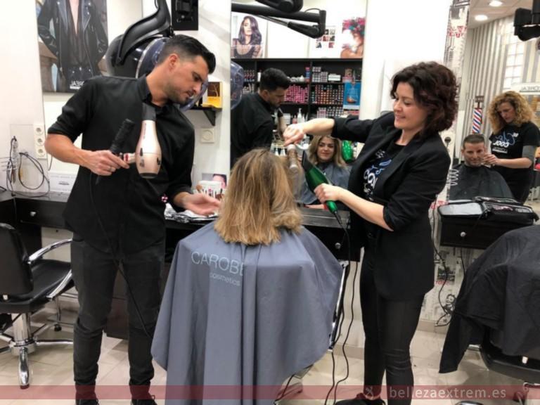 Formación en Extrem peluquería, con Juan Carlos Vivancos