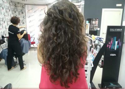 Donación de pelo para Ajicam, Asociación Jiennense del Cáncer de Mama