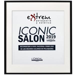 Extrem peluquería Iconic salon Loreal 2019