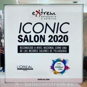 Extrem peluquería Iconic salon Loreal 2020