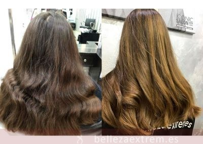 Mechas barrido natural