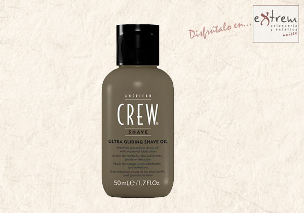 Ultra Gliding Shave Oil American Crew en Extrem