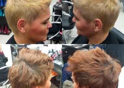 Cambios de color en peluquería Extrem
