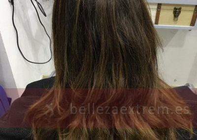 Baño diacolor con reflejos naturales, blond studio