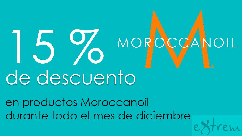 15% de descuento Moroccanoil