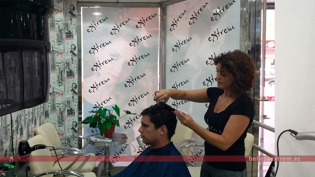 Corte de pelo para hombres en Extrem