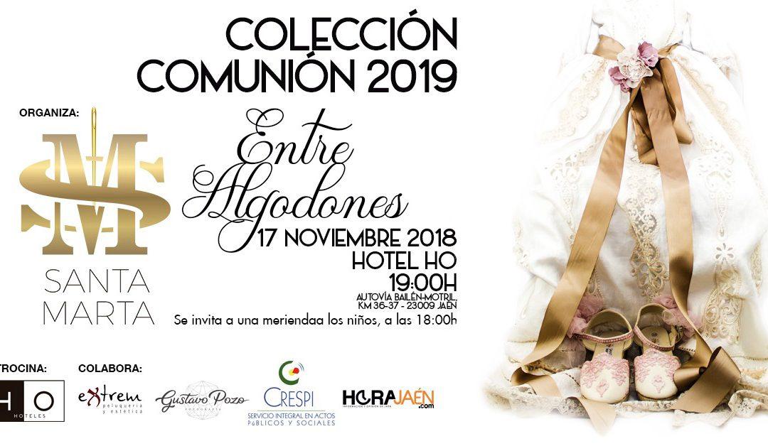 Colaboramos con Colección comuniones 2019: Entre algodones.