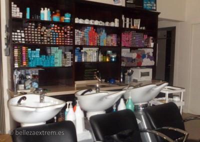 Lavacabezas de la peluquería Extrem