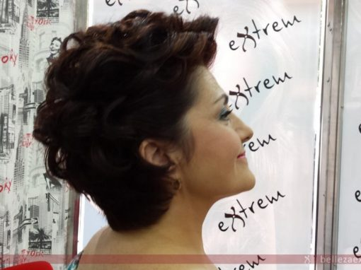 Maquillaje y peinado para boda
