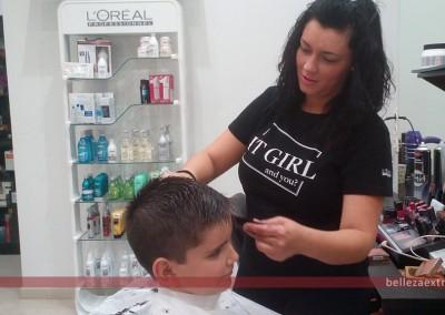 Corte de pelo para niños